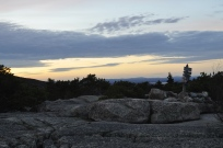 Granite balds atop Mount Champlain in Acadia National Park