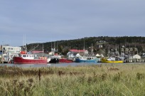 Alma, a small fishing village on the Bay of Fundy in New Brunswick