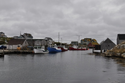 Peggy's Cove, a small picturesque fishing village just south of Halifax, Nova Scotia