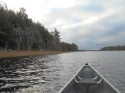 Canoeing in Kejimkujik National Park, Nova Scotia