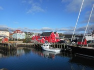 Lunenburg, an English-planned fishing village in Nova Scotia