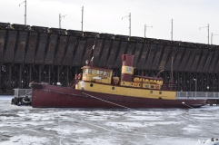 Tugboat Edna G at Two Harbors