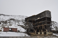Abandoned Atlas Coal Mine, East Coulee, Alberta