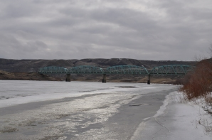 South Saskatchewan River at Sandy Point