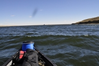 Getting a little choppy out on the Reservoir