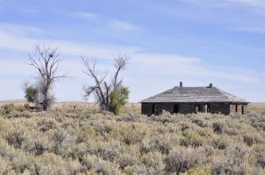 Another Wyoming plains homestead that plain didn't make it