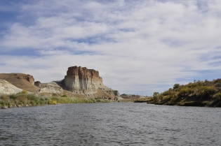 Green River, Wyoming's iconic 'Tollgate Rock'