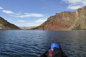 The Flaming Gorge itself, which provided the namesake for the Dam and Reservoir