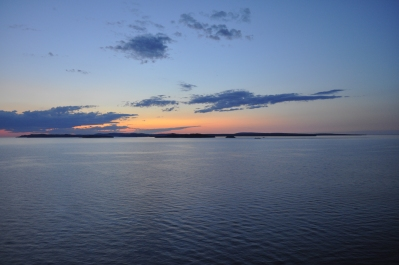 Sunrise over Isle Royale