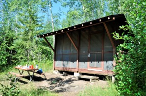 Isle Royale Campground Shelters
