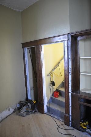 3rd Floor Door Trim