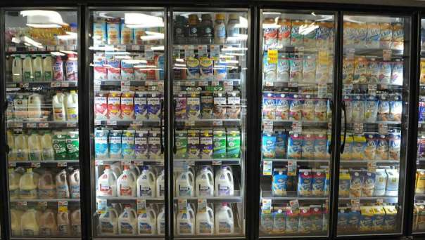 Dairy Cooler Doors