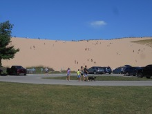 Dune Climb at Sleeping Bear Dunes National Lakeshore