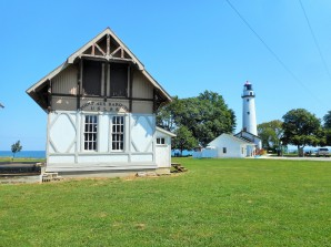 Point Aux Barques Lighthouse and U.S. Life Saving Station