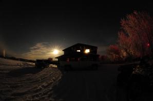 Historic Bettles Lodge, Halloween Full Moon